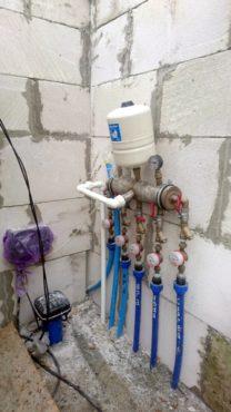 Монтаж насосного оборудования скважины