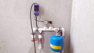Монтаж насосного оборудования для водоснабжения из скважины